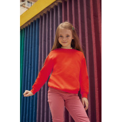 Sweat-shirt uni enfant